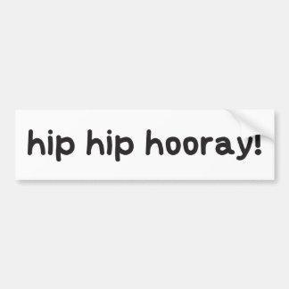 Adesivo Para Carro Consciência anca da displasia do quadril Hooray