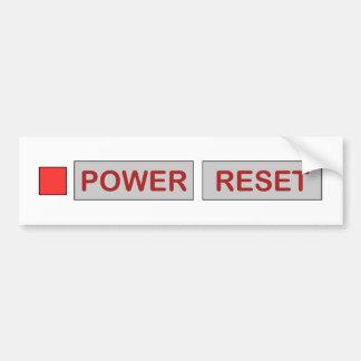 Adesivo Para Carro Console retro do jogo da restauração de poder para