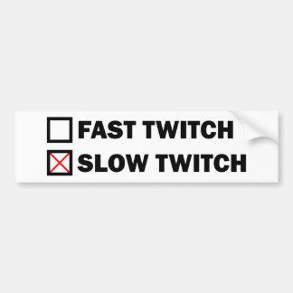 Adesivo Para Carro Contração muscular lenta