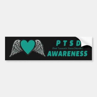 Adesivo Para Carro Coração/asas… PTSD