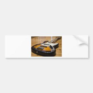 Adesivo Para Carro Cordas baixas baixas do instrumento da guitarra