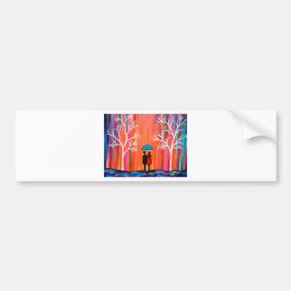 Adesivo Para Carro Cores do giftart romântico colorido da pintura do
