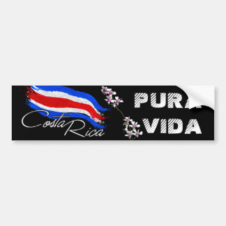 Adesivo Para Carro Costa Rica Pura Vida!