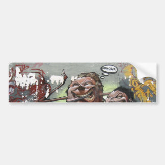 Adesivo Para Carro Coza do Mah, grafite, autocolante no vidro