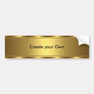 Adesivo Para Carro Criar sua própria guarnição do ouro do autocolante