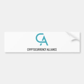 Adesivo Para Carro CryptocurrencyAlliance