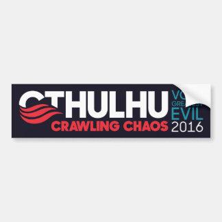 Adesivo Para Carro Cthulhu/Nyarlathotep para o presidente 2016