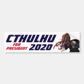 "Adesivo Para Carro ""Cthulhu para o presidente 20XX """
