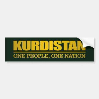 Adesivo Para Carro Curdistão (uma pessoas, uma nação)