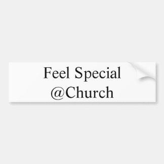 """Adesivo Para Carro Da """"etiqueta do @Church especial sensação"""""""