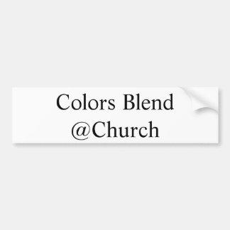 """Adesivo Para Carro Das """"etiqueta do @Church da mistura cores"""""""
