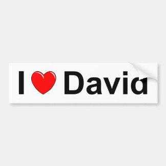 Adesivo Para Carro David