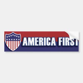 Adesivo Para Carro De AMÉRICA política patriótica retro clássica EUA
