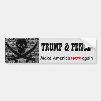 """Adesivo Para Carro De """"moedas de um centavo Trump&. Faça América DIAR"""