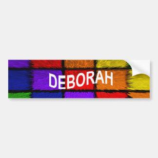 ADESIVO PARA CARRO DEBORAH