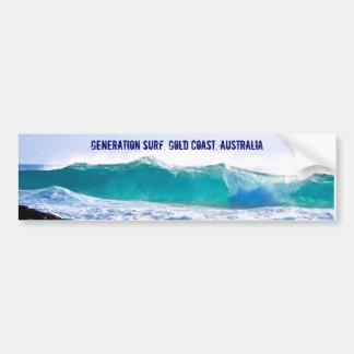 Adesivo Para Carro Decalque do surf da geração