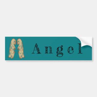 Adesivo Para Carro Declaração do anjo com asas