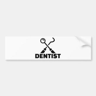 Adesivo Para Carro Dentista