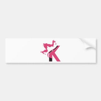 Adesivo Para Carro Design BMI do logotipo da coroa K