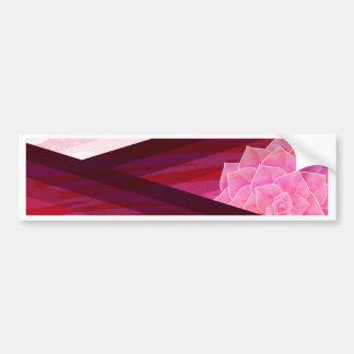 Adesivo Para Carro Design contemporâneo sereno da flor