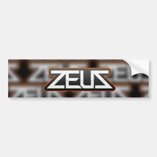 Adesivo Para Carro design da etiqueta do logotipo do zeus