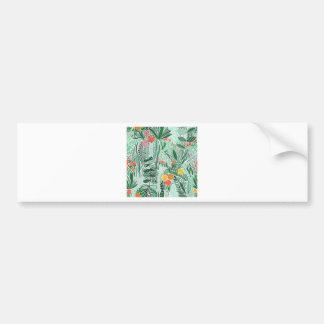 Adesivo Para Carro Design do ethno de Indonésia das flores