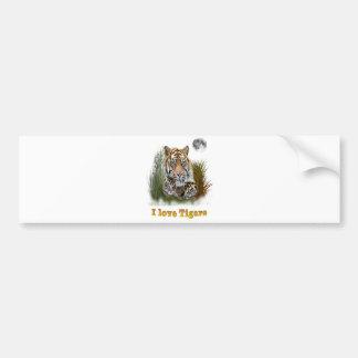 Adesivo Para Carro Design dos tigres