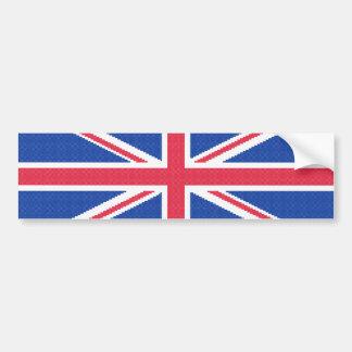 Adesivo Para Carro Design original Union Jack do ponto de cruz