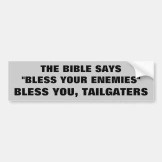 Adesivo Para Carro Deus abençoe você Tailgaters