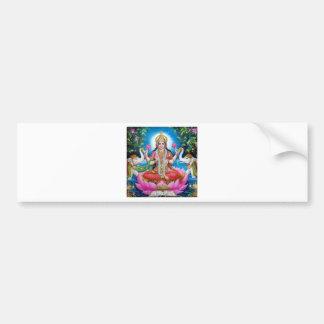 Adesivo Para Carro Deusa de Lakshmi de amor, de prosperidade, e de