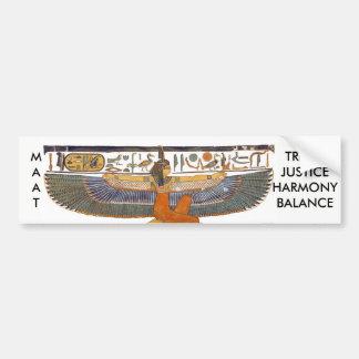 Adesivo Para Carro Deusa MA'AT de Egipto antigo