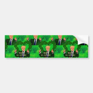 Adesivo Para Carro Dia de São Patrício Donald Trump