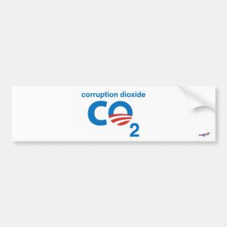 Adesivo Para Carro Dióxido da corrupção 1 autocolante no vidro