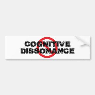 Adesivo Para Carro Dissonância cognitiva da proibição