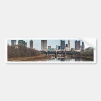 Adesivo Para Carro Distrito financeiro central Columbo, Ohio