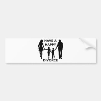 Adesivo Para Carro divórcio