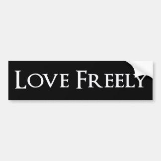 Adesivo Para Carro Do amor etiqueta livremente