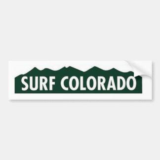"Adesivo Para Carro do ""SURF COLORADO COLORADO ENGRAÇADO de Colorado"