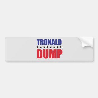Adesivo Para Carro Donald Trump - autocolante no vidro traseiro da