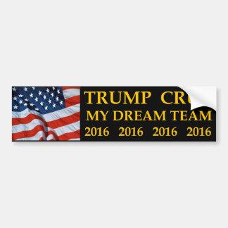 Adesivo Para Carro Donald Trump Ted Cruz meu autocolante no vidro