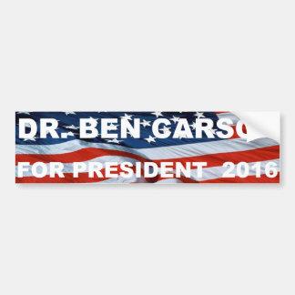 Adesivo Para Carro Dr.Ben Carson para o autocolante no vidro traseiro