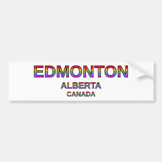 Adesivo Para Carro Edmonton orgulhoso, Alberta, Canadá