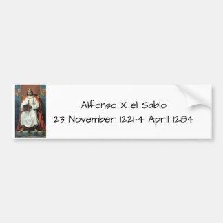 Adesivo Para Carro EL Sabio de Alfonso x