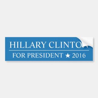 Adesivo Para Carro Eleição presidencial 2016 de Hillary Clinton