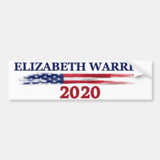 Adesivo Para Carro Elizabeth Warren 2020