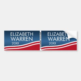 Adesivo Para Carro Elizabeth Warren 2020 BOGO