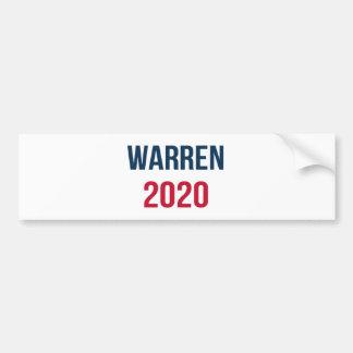 Adesivo Para Carro Elizabeth Warren para o presidente 2020
