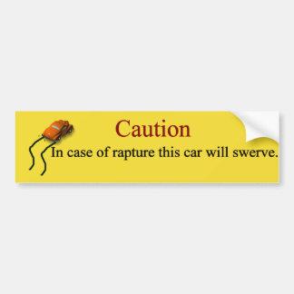 Adesivo Para Carro Em caso do êxtase, este carro Swerve