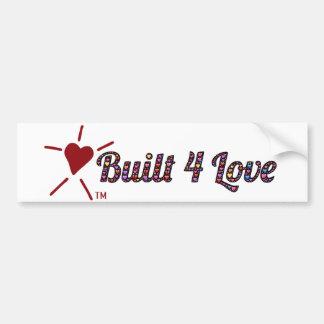 Adesivo Para Carro Emoji-arte, coração-enchida, Built4Love e logotipo