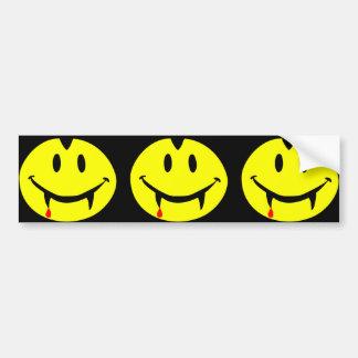 Adesivo Para Carro emoji dracula do vampiro